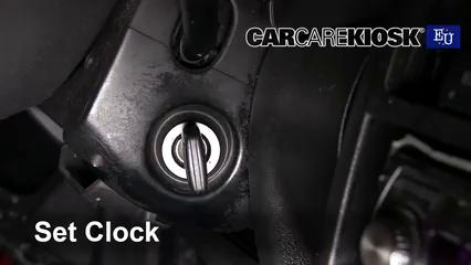 2001 Audi A3 TDI 1.9L 4 Cyl. Turbo Diesel Clock