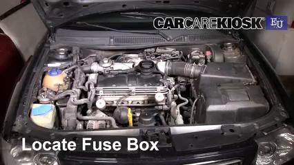 2001 Audi A3 TDI 1.9L 4 Cyl. Turbo Diesel Fuse (Engine)