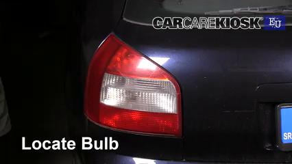 2001 Audi A3 TDI 1.9L 4 Cyl. Turbo Diesel Lights