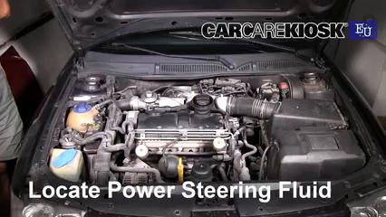 2001 Audi A3 TDI 1.9L 4 Cyl. Turbo Diesel Power Steering Fluid