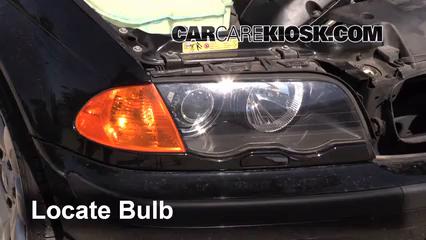 2001 BMW 325i 2.5L 6 Cyl. Sedan Lights Highbeam (replace bulb)