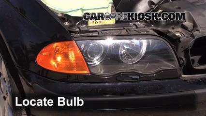 2001 BMW 325i 2.5L 6 Cyl. Sedan Lights Turn Signal - Front (replace bulb)