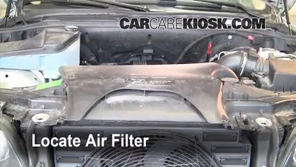 2001 BMW X5 3.0i 3.0L 6 Cyl. Air Filter (Engine)