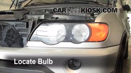2001 BMW X5 3.0i 3.0L 6 Cyl. Luces Luz de estacionamiento (reemplazar foco)