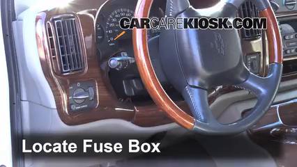 2001 Chevrolet Express 1500 LS 5.7L V8 Fusible (interior)