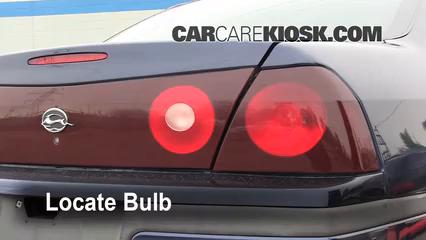 2001 Chevrolet Impala 3.4L V6 Éclairage