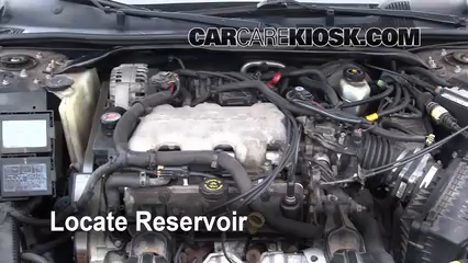 2001 Chevrolet Impala 3.4L V6 Liquide essuie-glace