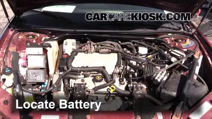 2001 Chevrolet Monte Carlo LS 3.4L V6 Batería