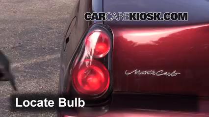 2001 Chevrolet Monte Carlo LS 3.4L V6 Luces