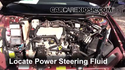 2001 Chevrolet Monte Carlo LS 3.4L V6 Líquido de dirección asistida