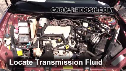 2001 Chevrolet Monte Carlo LS 3.4L V6 Líquido de transmisión