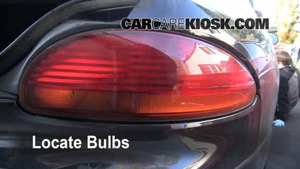 2001 Chrysler LHS 3.5L V6 Lights Tail Light (replace bulb)