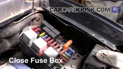 Replace a Fuse: 1998-2005 Daewoo Matiz - 2001 Daewoo Matiz SE 0.8L 3 Cyl. | Chevrolet Matiz Fuse Box Location |  | CarCareKiosk