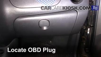 2001 Daewoo Matiz SE 0.8L 3 Cyl. Check Engine Light