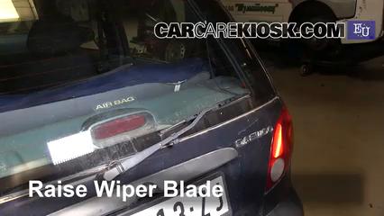 2001 Daewoo Matiz SE 0.8L 3 Cyl. Windshield Wiper Blade (Rear)