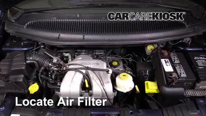 2001 Dodge Caravan SE 2.4L 4 Cyl. Air Filter (Engine)