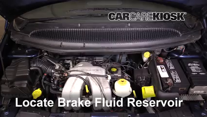 2001 Dodge Caravan SE 2.4L 4 Cyl. Brake Fluid Add Fluid