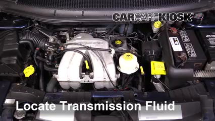2001 Dodge Caravan SE 2.4L 4 Cyl. Transmission Fluid