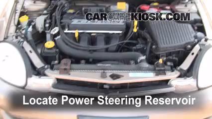 2001 Dodge Neon 2.0L 4 Cyl. Power Steering Fluid