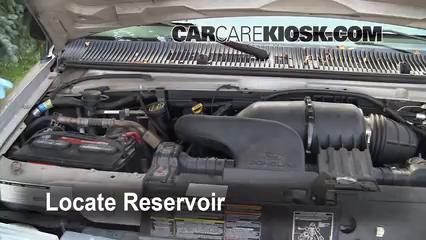 2001 Ford E-150 Econoline Club Wagon XLT 5.4L V8 Liquide essuie-glace
