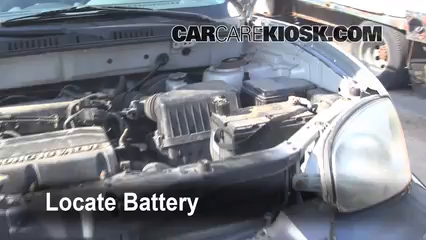 2001 Hyundai Santa Fe GL 2.4L 4 Cyl. Battery