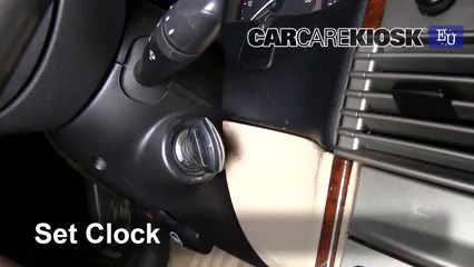 2001 Lancia Lybra JTD Station Wagon 1.9L 4 Cyl. Turbo Diesel Reloj Fijar hora de reloj
