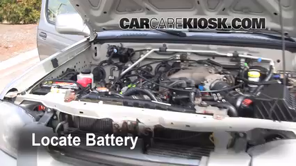 2001 Nissan Frontier SE 3.3L V6 Crew Cab Pickup (4 Door) Battery
