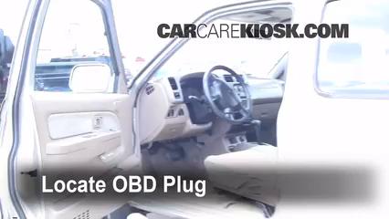 2001 Nissan Frontier SE 3.3L V6 Crew Cab Pickup (4 Door) Check Engine Light