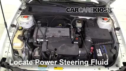 2001 Oldsmobile Alero GL 2.4L 4 Cyl. Sedan (4 Door) Power Steering Fluid