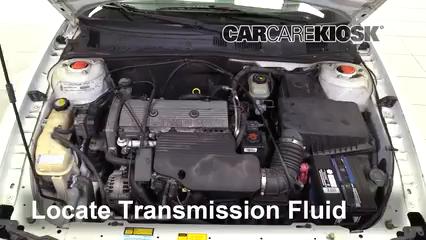 2001 Oldsmobile Alero GL 2.4L 4 Cyl. Sedan (4 Door) Transmission Fluid