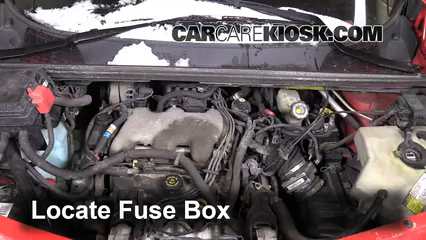 2001 Pontiac Aztek 3.4L V6 Fuse (Engine) Check