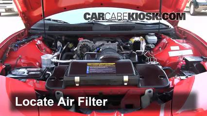 2001 Pontiac Firebird 3.8L V6 Convertible Air Filter (Engine)