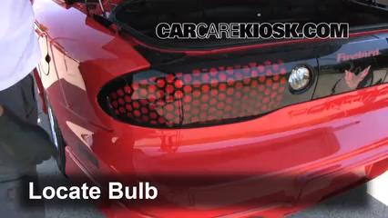 2001 Pontiac Firebird 3.8L V6 Convertible Lights