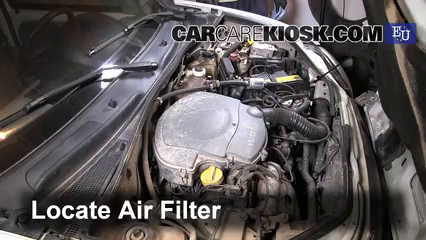 2001 Renault Kangoo Energy 1.4L 4 Cyl. Filtro de aire (motor)