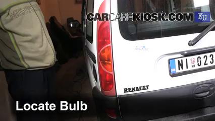 2001 Renault Kangoo Energy 1.4L 4 Cyl. Luces Luz de giro trasera (reemplazar foco)