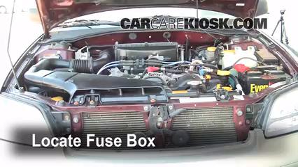 2001 Subaru Outback Limited 2.5L 4 Cyl. Wagon Fuse (Engine)