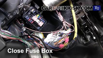 interior fuse box location: 2000-2006 suzuki ignis - 2001 suzuki ignis gl  1.3l 4 cyl.  carcarekiosk