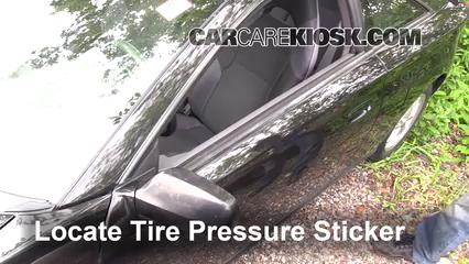 2001 Toyota Celica GT 1.8L 4 Cyl. Tires & Wheels Check Tire Pressure