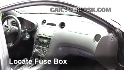 2001 Toyota Celica GT 1.8L 4 Cyl. Fusible (interior) Control