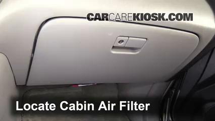 2001 Toyota Highlander 3.0L V6 Filtro de aire (interior)
