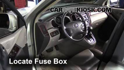 2001 Toyota Highlander 3.0L V6 Fusible (interior)