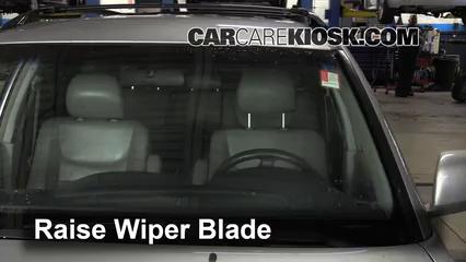2001 Toyota Highlander 3.0L V6 Escobillas de limpiaparabrisas delantero