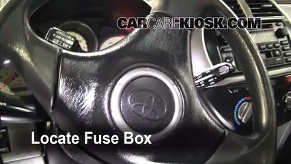 2001 Toyota RAV4 2.0L 4 Cyl. Fuse (Interior)