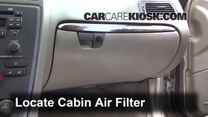 2001 Volvo V70 2.4L 5 Cyl. Air Filter (Cabin)