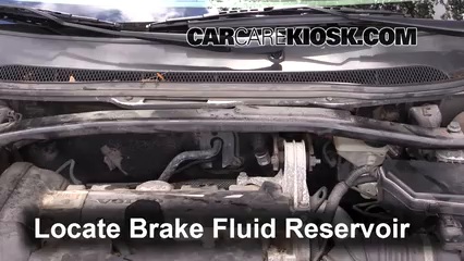 2001 Volvo V70 2.4L 5 Cyl. Brake Fluid
