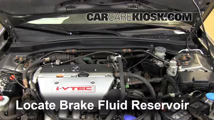 2002 Acura RSX Type-S 2.0L 4 Cyl. Brake Fluid