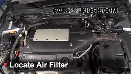 air filter how to 1999 2003 acura tl 2002 acura tl 3 2l v6 rh carcarekiosk com 2000 Acura CL 2005 Acura CL