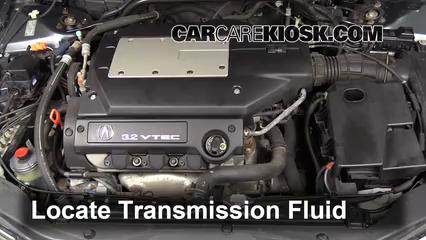 Add Transmission Fluid 1999 2003 Acura TL