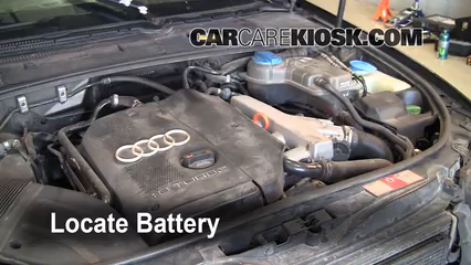 Battery Replacement: 2002-2008 Audi A4 Quattro - 2002 Audi