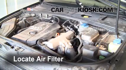 2002 Audi A4 Quattro 1.8L 4 Cyl. Turbo Air Filter (Engine)